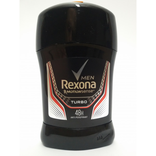 REXONA MEN TURBO 50ml. ANTYPERSPIRANT MĘSKI.