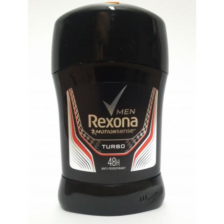 REXONA MEN TURBO 50ml. ANTYPERSPIRANT MĘSKI.