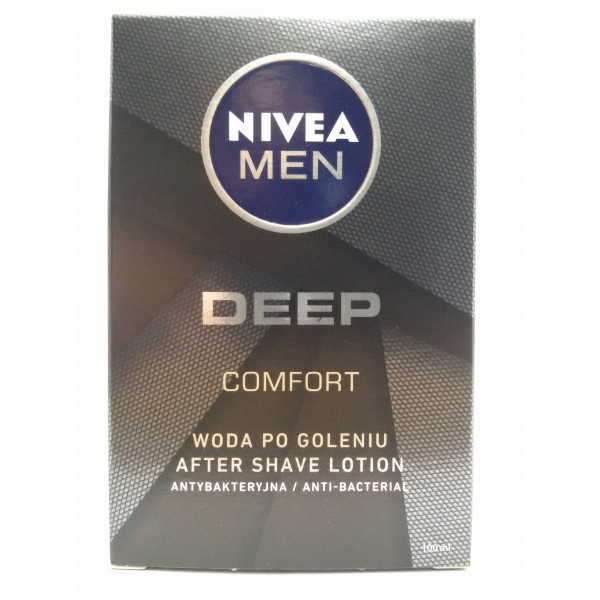 NIVEA MEN DEEP COMFORT 100ml. woda po goleniu