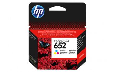HP Oryginalny wkład atramentowy Ink Advantage 652 KOLOR