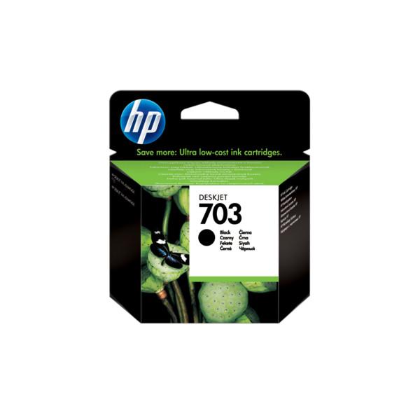 HP Oryginalny wkład atramentowy Deskjet 703 CZARNY