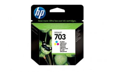 HP Oryginalny wkład atramentowy Deskjet 703 KOLOR