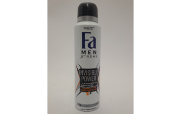FA MEN XTREME 150ML INVISIBLE POWER ANTI-PERSPIRANT