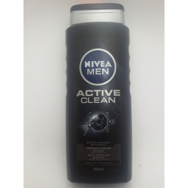 NIVEA MEN ŻEL POD PRYSZNIC 500ml. ACTIVE CLEAN