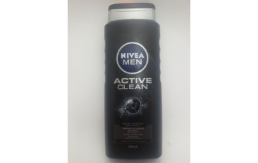 NIVEA MEN ŻEL POD PRYSZNIC 500ml ACTIVE CLEAN