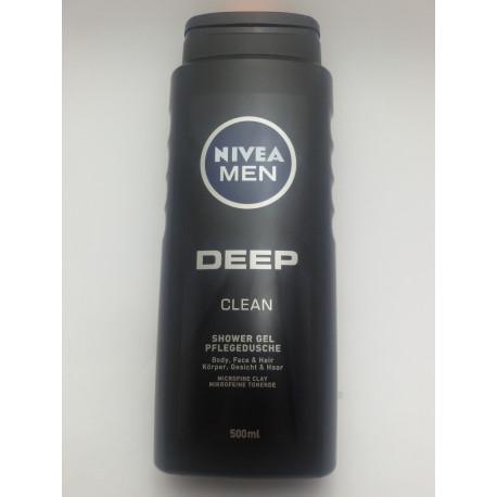 NIVEA MEN ŻEL POD PRYSZNIC 500ml. DEEP CLEAN
