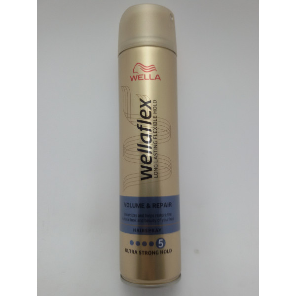 WELLAFLEX LAKIER DO WŁOSÓW 250ML. 4 VOLUMEN.