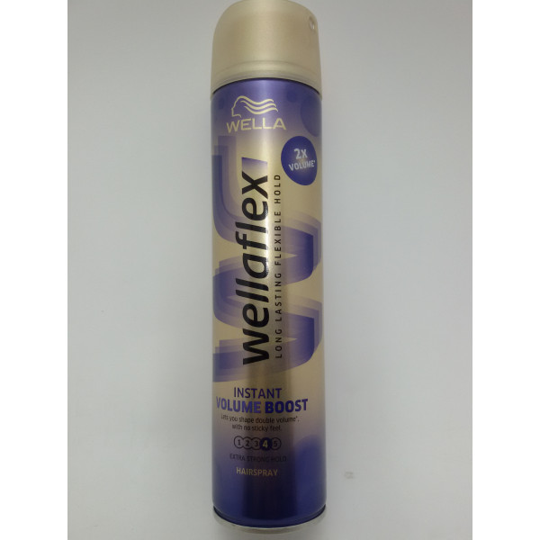 WELLAFLEX LAKIER DO WŁOSÓW 250ML. FORM&FINISH 5.
