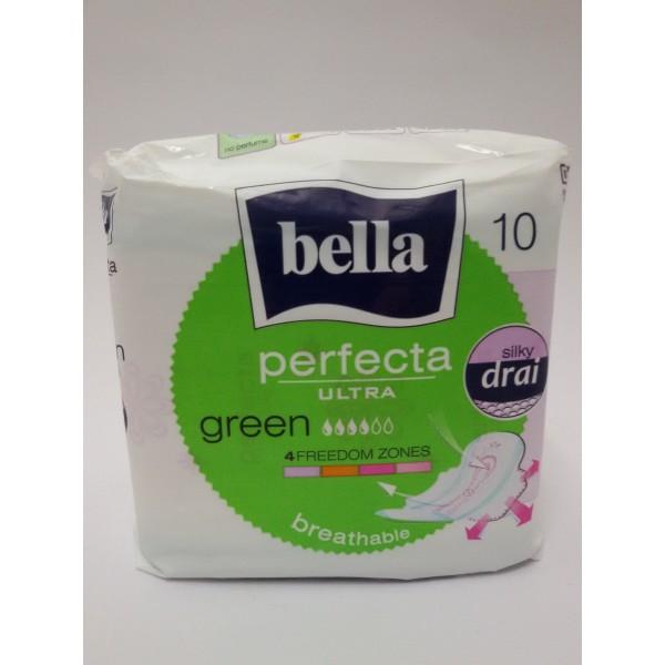 BELLA PERFECTA ULTRA GREEN 10szt. podpaski.