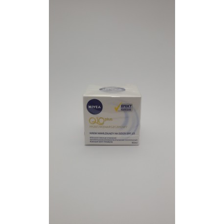 KREM NIVEA VISAGE Q10 NA DZIEŃ 50ml z filtrem SPF15