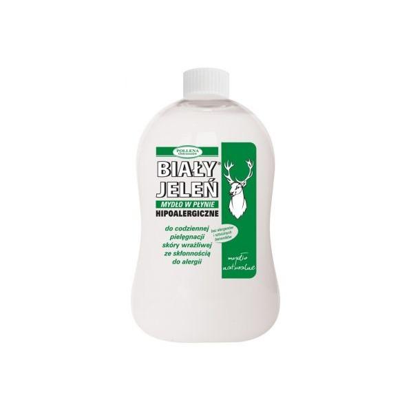 BIAŁY JELEŃ Zapas mydła w płynie SZARE MYDŁO 500 ml
