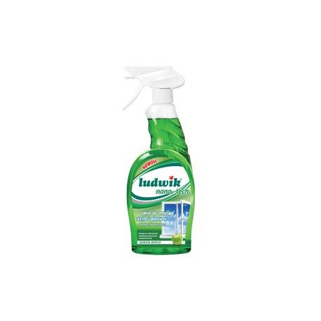 LUDWIK Płyn do mycia szyb i glazury NANO-TECH APPLE 750 ml