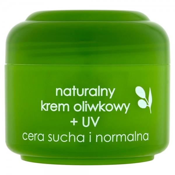ZIAJA Naturalny krem oliwkowy + UV cera sucha i normalna 50 ml
