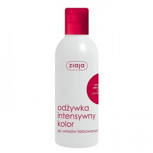 ZIAJA Odżywka do włosów farbowanych OLEJ RYCYNOWY 200 ml