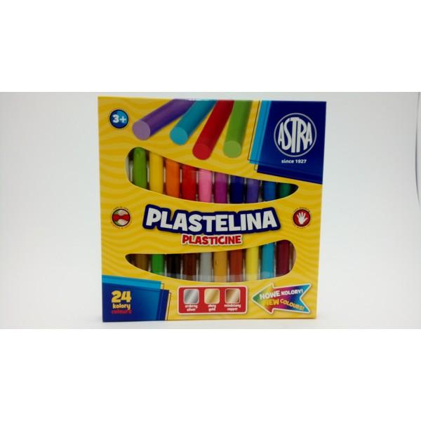 PLASTELINA 24KOL. ASTRA