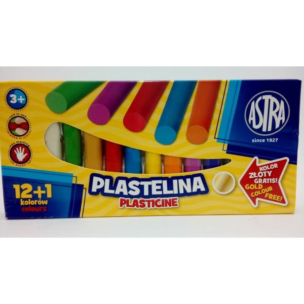 ASTRA PLASTELINA 13KOL /1szt gratis.