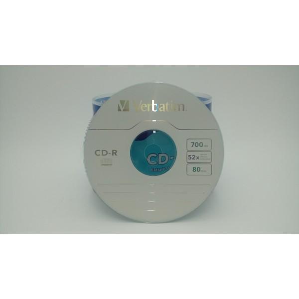 VERBATIM PŁYTA CD-R 700MBx52 DL EX PR