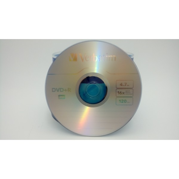 VERBATIM PŁYTA DVD+R 4,7GBx16 ADVANCED