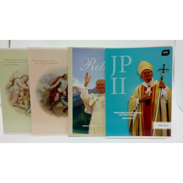 ZESZYT DO RELIGII A5 32 kartkowy w kratkę INTERDRUK