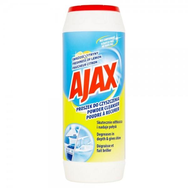 AJAX Proszek do czyszczenia 450 g CYTRYNA