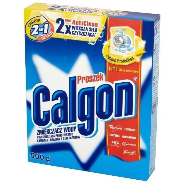 CALGON Proszek do zmiękczania wody 500 g