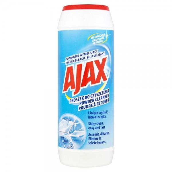 AJAX Proszek do czyszczenia 450 g PODWÓJNIE WYBIELAJĄCY
