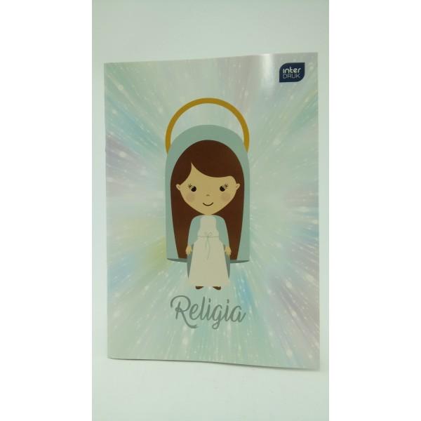 ZESZYT DO RELIGII A5 32KARTKOWY W KRATKĘ dla dziewczynek.