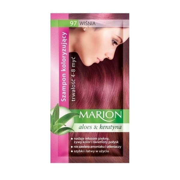 MARION Szampon koloryzujący 97 WIŚNIA 40 ml