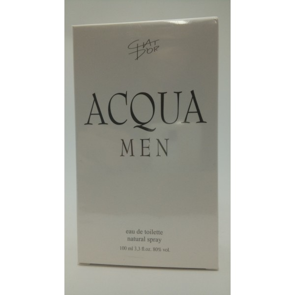 "CHAT D""OR ACQUA MEN 100ML.WODA TOALETOWA."