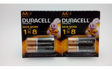 Duracell AA LR6 bateria alkaliczna 2 sztuki