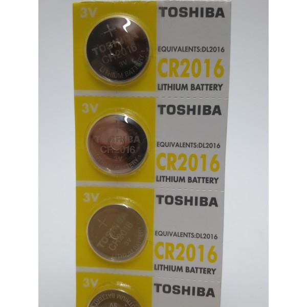 TOSHIBA BATERIA CR2016 3V litowa.