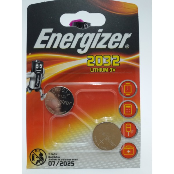 ENERGIZER BATERIA LITOWA 2032 3V