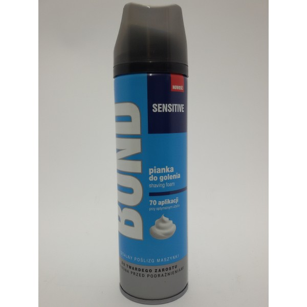 BOND PIANKA DO GOLENIA 200ml.SENSITIVE.