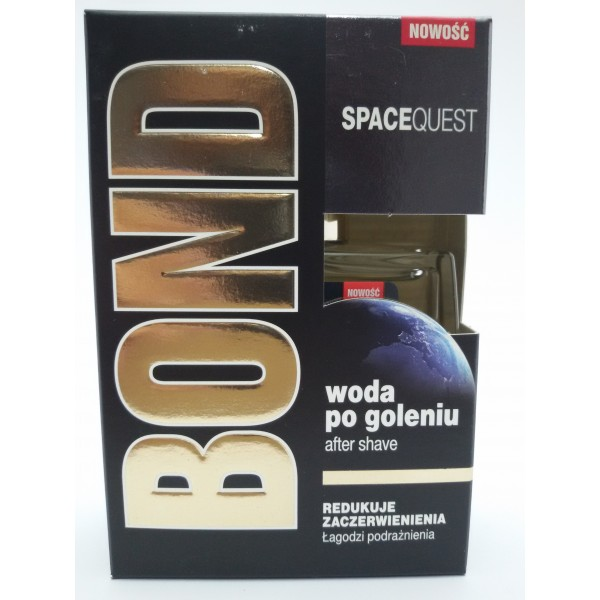 BOND WODA PO GOLENIU 100ml. SPACEQUEST.