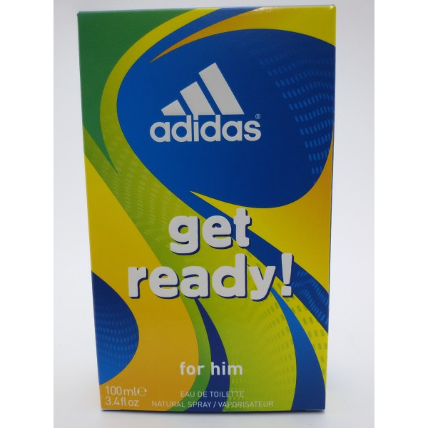 ADIDAS WODA TOALETOWA 100ML GET READY for him.