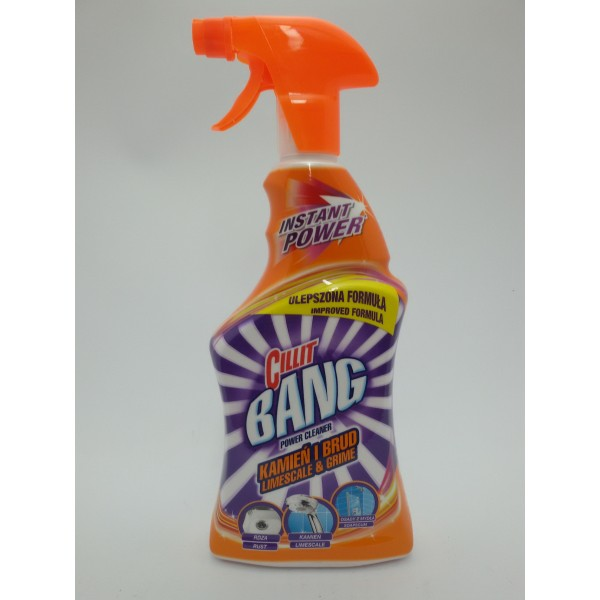 CILLIT BANG SPRAY POWER 750ml.KAMIEŃ I BRUD.