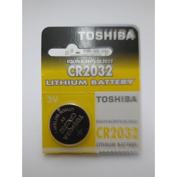 TOSHIBA BATERIA LITOWA CR2032 3V.