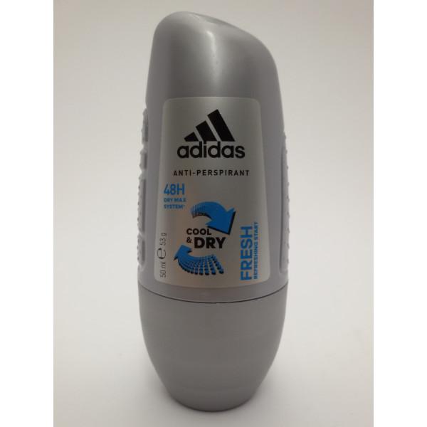 ADIDAS FRESH COOL&DRY 50ml. anti-perspirant dla mężczyzn.
